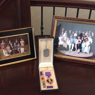 Remembering Paul Leimkuehler and All Servicemen Awarded with The Purple Heart